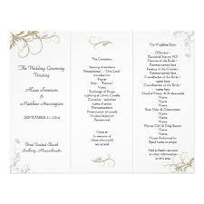 Examples Of Wedding Programs Templates Wedding Program Templates Makeup Http Www Redwatchonline Org