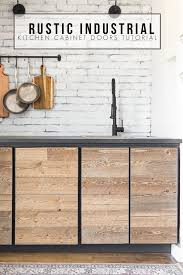 how to build your own kitchen cabinets cheap diy rustic industrial cabinet doors tutorial cherished bliss