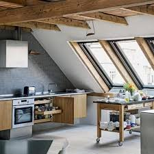 attic kitchen ideas functional attic kitchens that will impress you