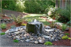 Backyard Water Fountain by Backyards Innovative Wonderful Small Backyard Water Feature