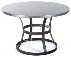 metal top round dining table 29 best home dining tables images on pinterest round dining inside