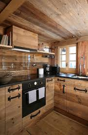 cuisine style montagne coup de coeur du mois la magie d une cuisine en bois coeur