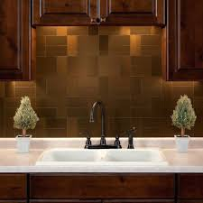 stainless steel tile backsplash ideas kitchen astonishing metal