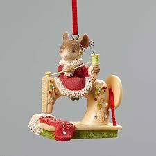 sewing machine ornaments diy crush
