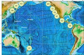 Map Of Tectonic Plates On The Enigmatic Birth Of The Pacific Plate Within The Panthalassa