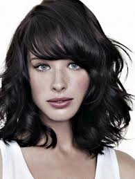 medium length hairstyles front and back with bangs top 10 layered hairstyles for shoulder length hair front bangs