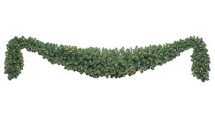 lighted garland olympia pine prelit commercial led