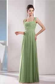 sage green bridesmaid dress cute a line chiffon floor length