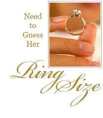 wedding ring sizes more ways to guess ring size