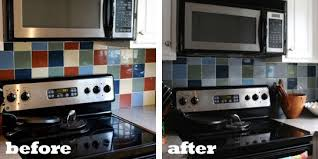 how to paint kitchen tile backsplash kitchen tiles painted interior design