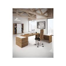bureau de direction avec retour bureau direction design kara avec retour mobilier de bureau