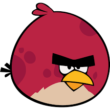 angry bird red icon angry birds iconset femfoyou