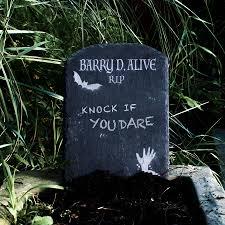 make your own halloween tombstone halloween garden slate tombstone decoration by bespoke u0026 oak co