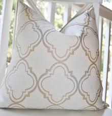 Designer Throw Pillows For Sofa by Decorative Pillow Ivory Gold Silver Grey Moroccan Designer Pillow