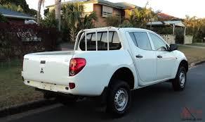 mitsubishi triton 2008 mitsubishi triton glx 2008 5spd turbo diesel dual cab ute in in