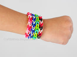 bracelet made from rubber bands images Rubber band bracelets make it without a loom tutorial jpg