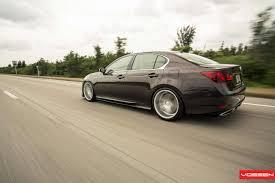 lexus slammed vossen wheels lexus gs vossen cv5