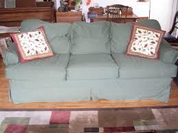 mitchell gold slipcovered sofa mg nina
