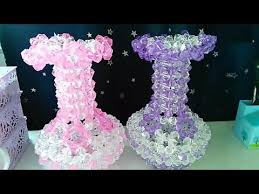 Beaded Vases How To Bead Funny Acceceroy Vases 1 3 Youtube