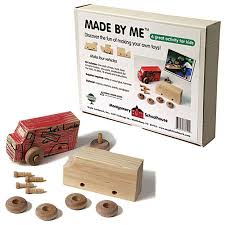 Build A Toy Box Kit by Wooden Toys Wooden Build It Kits Buy Online At Fat Brain Toys