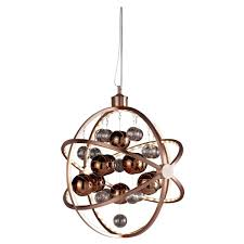 Endon Muni Led Ceiling Pendant Light Copper Pagazzi