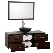 standard bathroom vanity depth 48