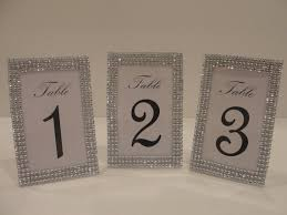 silver frames for wedding table numbers lot of 10 silver tone bling rhinestone table number photo frame