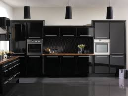 Pictures Of Black Kitchen Cabinets Modern Black Kitchen Cabinets Delectable Decor Amazing Modern