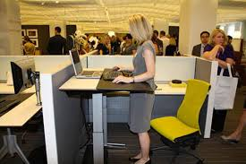stand up desk modern office design ideas