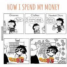 Money Memes - how i spend my money image dubai memes