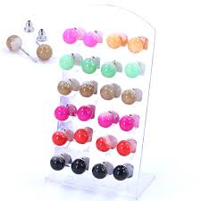 cheap earrings free shipping cheap earrings resin plastic color