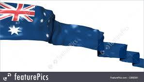 flags australia ribbon flag stock illustration i2969381 at