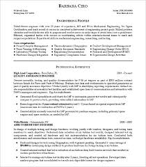 Sample Resume Engineering by Download R And D Test Engineer Sample Resume