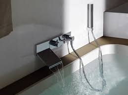 wall mounted tub faucets delta wall mount waterfall tub faucet wall mount waterfall tub
