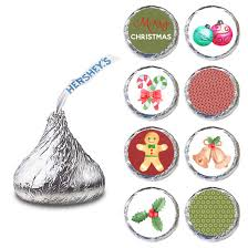 label for hershey s kisses chocolates