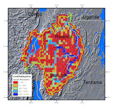 Lake Victoria Map Rwanda Gis Data