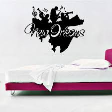 tattoo home decor new orleans jazz wall art mural decor sticker jazz band wall
