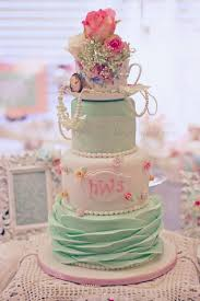 Shabby Chic Bridal Shower Decorations by Best 25 Shabby Chic Cakes Ideas On Pinterest Blue Petite