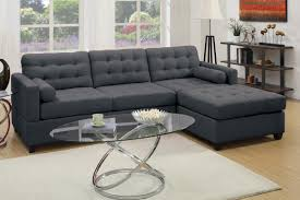 Sectional Sofa Black Charcoal Grey Sectional Sofa Furniture With Chaise 7