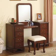 Retro Bedroom Furniture Stunning Bedroom Vanity With Drawers Contemporary Rugoingmyway