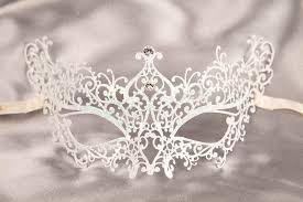 white masquerade masks for women and mask for a or party i recommend wearing