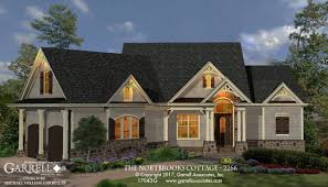 Rustic House Plans by Northbrooks Cottage 2266 House Plans By Garrell Associates Inc