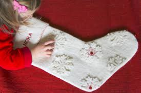 Homemade Christmas Stockings by Calm Cradle Photo U0026 Design Blog Calm Cradle Photo U0026 Design