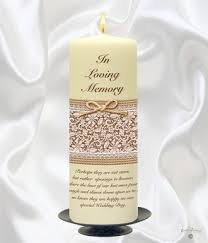 Wedding Memorial Welcome To Our Personalised Candles For Weddings Anniversaries