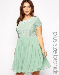 Daxon Robe Grande Taille by