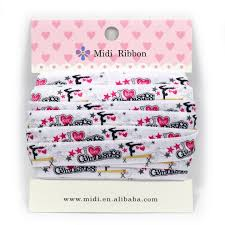 ribbon for hair that says gymnastics 5 8 16mm 10 yards i love gymnastic printed foe ribbon cartoon