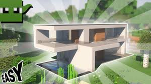 how to build a small modern house minecraft tutorial how to build a small modern house 1