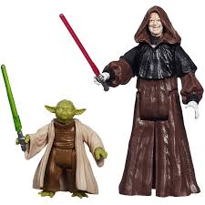 yoda halloween costume kids star wars mission series figure set yoda and darth sidious