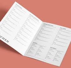 menu design trends with tips for restaurants hotels and bars