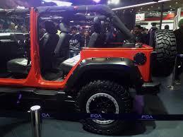 jeep wrangler custom 2 door jeep wrangler unlimited showcased at the 2016 delhi auto expo valve